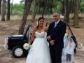 GOSTO DE TI SARA+DANIEL Chegada da noiva3