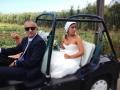 GOSTO DE TI SARA+DANIEL Noiva Sara a sair de casa2