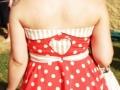 RITA COSTUMISTA Detalhe vestido irma do noivo